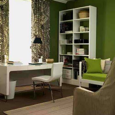 dark-green-room